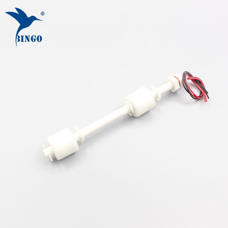 100 mm až 500 mm dvojité PP plováky vertikální hladinový spínač hladiny pro vodní nádrže