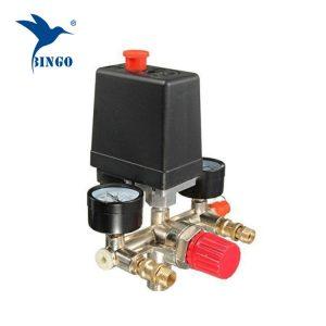 Manometrové měřiče tlakových spínačů 125psi 1 portu kompresoru