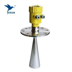 Vysílač radarové hladiny 30 m 26GHz pro práškové pevné částice