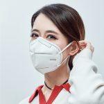 n95 Jednorázová maska, která zabraňuje smogu, zabraňuje prachu a volně dýchá