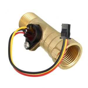 DC-5V-15mA-Brass-1-2-palcový závit-Hall Effect-Water-Flow-Sensor-Switch-Flow-Meter