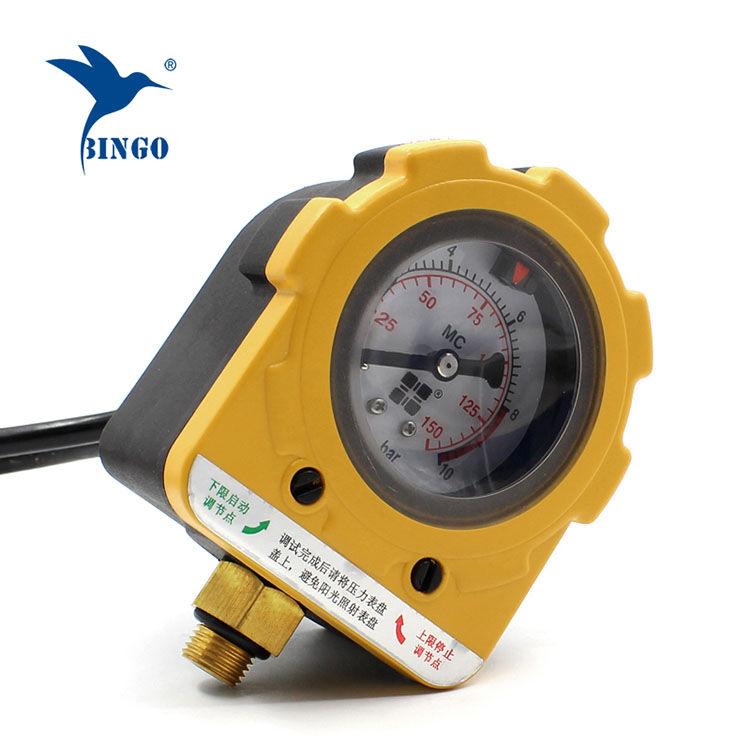 Digitální ovladač tlaku vodního čerpadla Inteligentní vypínač ON OFF 220V