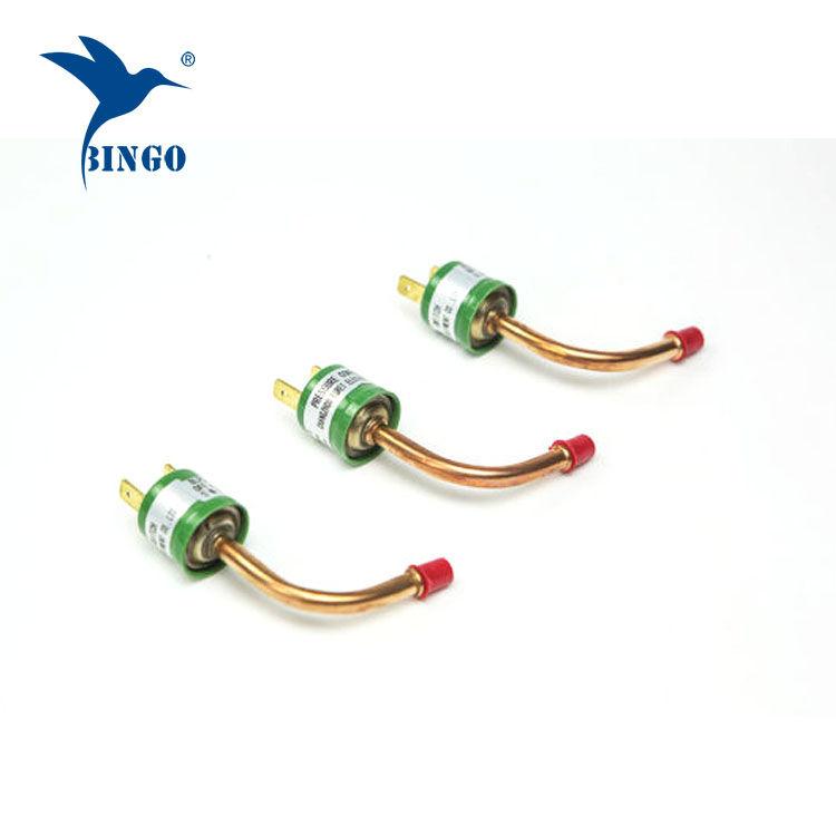 Tlakový spínač / ovládání tepelného čerpadla