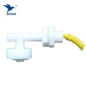 Horizontální mini tvar L plastový plovákový spínač pro nádrž na vodu