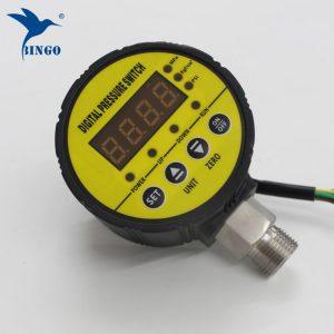 inteligentní tlakový spínač, vakuový tlakový spínač, čtyřmístný digitální displej