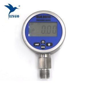 inteligentní vakuový digitální manometr, lcd, led displej, 100mpa gauge