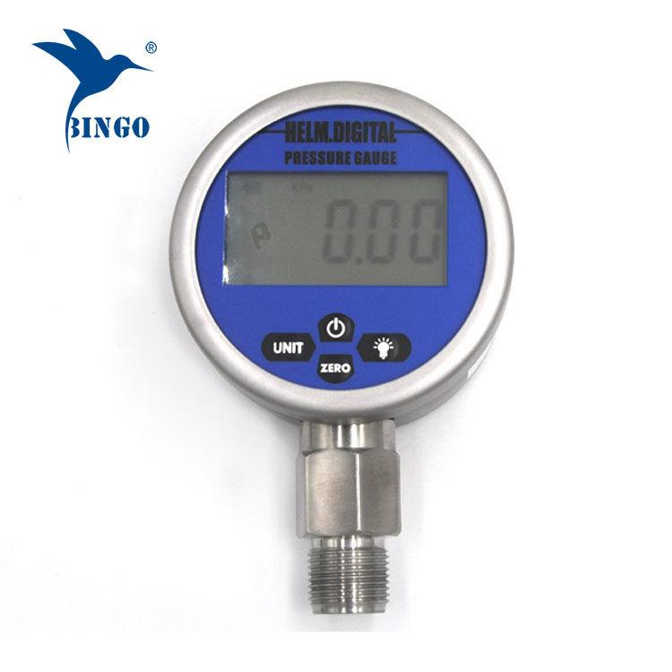 Inteligentní vákuový digitální manometr, LCD, LED displej, měřič 100MPa