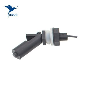 Připojení závitů M16 černý vodorovný vodní plovákový spínač pro dávkovač vody