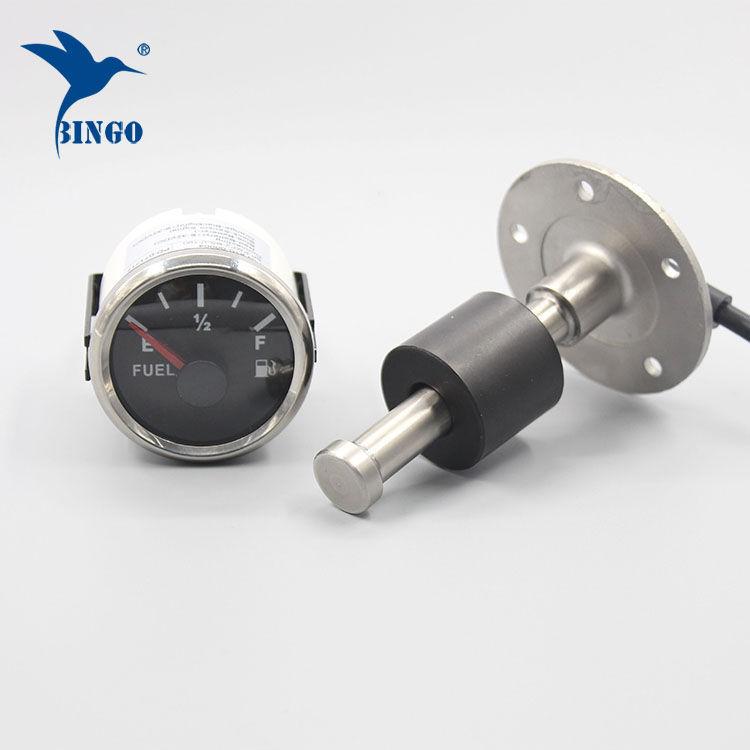 Indikátor palivové nádrže z ušlechtilé oceli