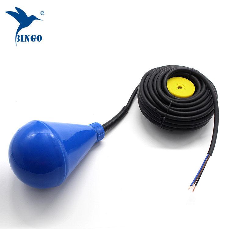 Plovákový spínač hladinové nádrže na vodní nádrž s PVC kabelem