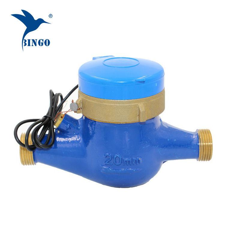 mosazné tělo Pulse Snímač impulzů průtokoměru vody (1)